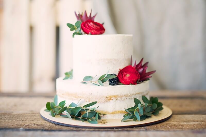 Nahá torta nielen na svadbu