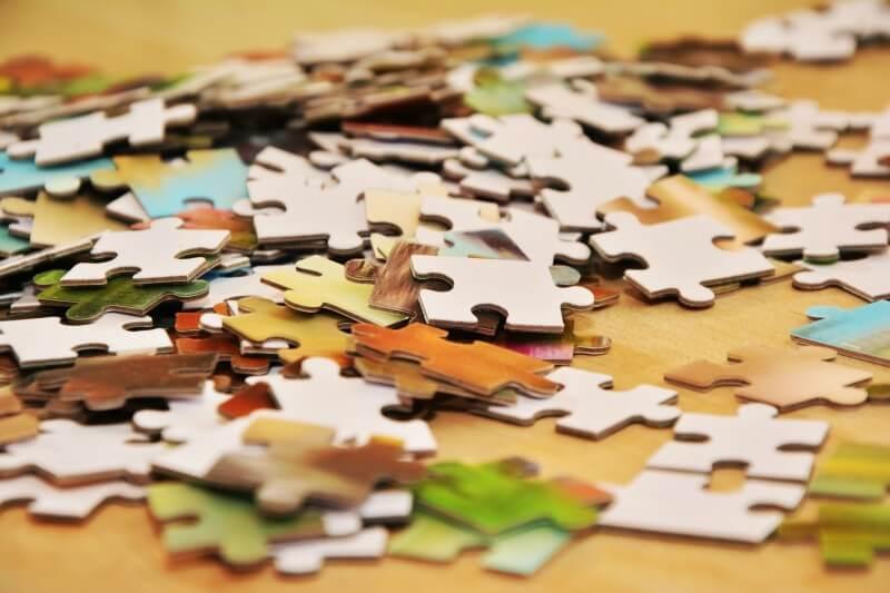 Stavanie puzzle – spôsob, ako sa odreagovať