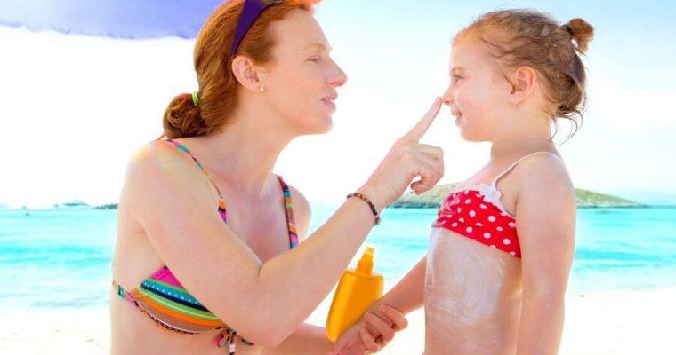 Ako chrániť deti pred popálením od slnka?