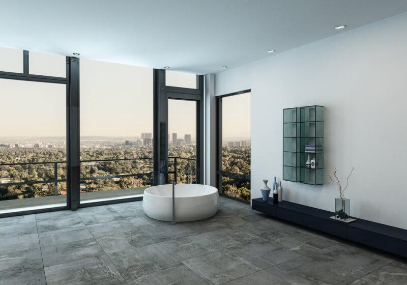 Travertín ako moderný dominantný prvok interiérov